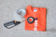 Last Minute No Sew DIY Emmet From The Lego Movie Costume from…