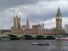 Londres lluvioso. Uk/Rainy London. UK