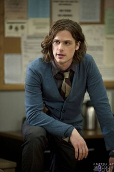 Matthew Gray Gubler you know hes the one