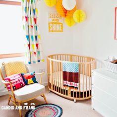 Stunning Stokke Sleepi Crib Nursery Space