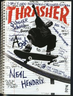 Thrasher Magazine - skateboarding news videos photos clothing skateparks events music and Photo Wall Collage, Picture Wall, Collage Art, Room Posters, Poster Wall, Poster Prints, Skate Photos, Thrasher Magazine, Skate Art