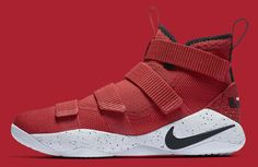 b7996cac9986 Nike LeBron Soldier 11 University Red Release Date Profile 897644-601 Nike  Lebron