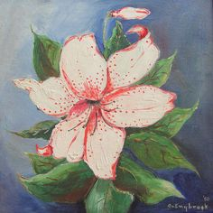 Stargazer Lily 1950 Painting