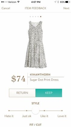 Normally not a fan of polka dots but I LOVE this! I could wear this to conference in June.