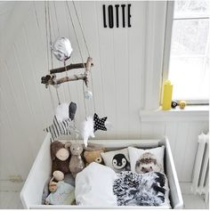 Nordisk interiør inspirasjon: Babyrom inspirasjon