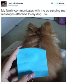 This family's clever way of communicating. | 19 Hilarious Tweets That Prove Families Were So Damn Funny In 2016