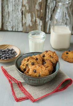 Chocolate Chip Cookies from Everyday Vegan Eats by Zsu Dever, Photo by An Unrefined Vegan