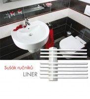 ELVL Koupelnový sušák LINER.ES, bílý