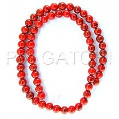 BEADS IMP TURQUISE BE8819   BEADS IMP TURQUISE BE8819 Rp19.000 IMP Turquise round red color