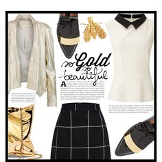 ~So gold, so beautiful~ by dolly-valkyrie on Polyvore featuring Glamorous, Donna Karan and Chaumet