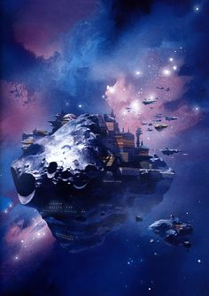 An assorted collection of science-fiction and space opera art Space Fantasy, Sci Fi Fantasy, Fantasy World, Arte Sci Fi, Cyberpunk, Sci Fi Kunst, Science Fiction Kunst, Space Opera, Beyond The Horizon
