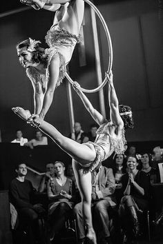 Engage your guests with top level entertainment! Aerial Acrobatics, Aerial Dance, Aerial Hoop, Aerial Arts, Aerial Silks, Partner Acrobatics, Art Du Cirque, Circus Aesthetic, Circus Art