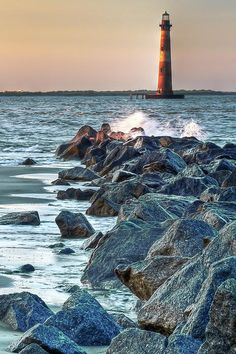 Morris Island Lighthouse Photograph  - Morris Island Lighthouse Fine Art Print