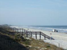 Crescent Beach, FL near Fort Matanzas National Monument