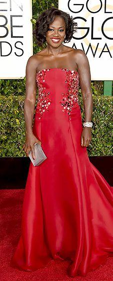 Viola Davis: 2015 Golden Globes - beautiful!