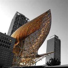 Frank Gehry - Pez de Oro. Barcelona.