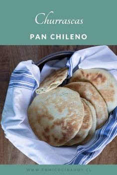 Churrascas   En Mi Cocina Hoy Pan Bread, Bread Baking, Chilean Recipes, Chilean Food, Pan Dulce, 30 Minute Meals, Empanadas, Churros, Bread Recipes