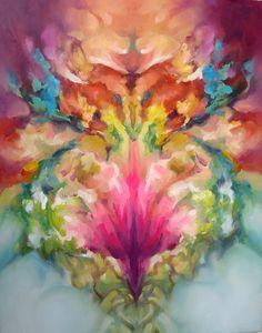 """Saatchi Online Artist: guo yufeng ; Oil, Painting """"DATURA"""""""