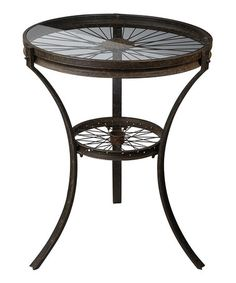 Look what I found on #zulily! Industrial Side Table #zulilyfinds