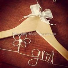 Flower (symbol) Girl hanger (too cute) $20 +p/h
