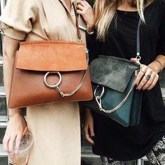 Street chic with Chloe bags. Fall Handbags, Burberry Handbags, Prada Handbags, Prada Bag, Luxury Handbags, Cheap Handbags, Designer Handbags, Burberry Tote, Designer Bags