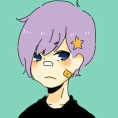Pastel goth boy