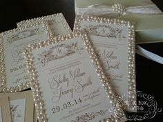 Musical Wedding or Party Invitation and RSVP Card in The Great Gatsby 1920s Gold Pearl Black in shades of Champagne Ivory and white with ribbon and embellishment. Comes in Musical Box that Sings! Singing Music boxed invite. Totally custom, high end/class, couture, elegant invite.