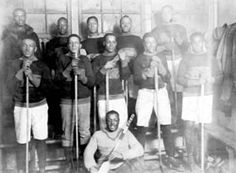 """The First Black Ice Hockey Players - 1820 to 1870  (From the book): """"For it was Black hockey players in the later half of the nineteenth century whose style of play and innovations helped shape the sport, effectively changing the game of hockey forever."""" Page 12. #Blackhistory"""