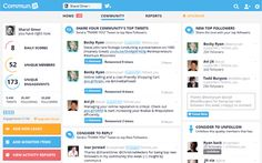 Twitter Community Management Dashboard | Twitter Marketing Tool | Commun.it - Quickly identify valuable people in your Twitter community that you were neglecting to engage because of all the noise in your stream.