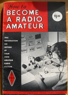 Vintage How To Book How to Become a Radio Amateur by MyGoldenTree, $20.00