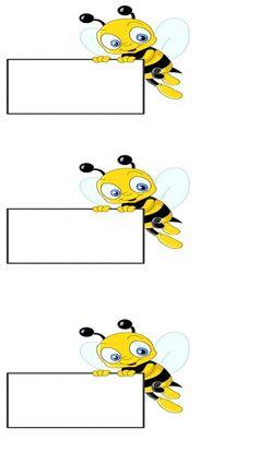 arılar sınıfı için isim kartı (2)