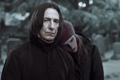 Snape And Hermione, Severus Snape, Hermione Granger, Harry Potter, Alan Rickman, My One And Only, Jon Snow, Fanart, Ship