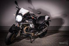 Moto Foto Guzzi in der Tiefgarage...auf gehts