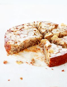 ~ Lemon, ricotta & almond flourless cake ~