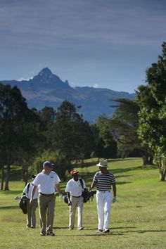 With majestic Mt Kenya as a back drop the views on this golf course are stunning. Try your luck golfing on the equator at the Fairmont Mount Kenya resort.