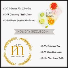 Abby M. Interiors: Holiday Sizzle 2014 part one: 5 TIPS FOR SIMPLE CHRISTMAS DECOR