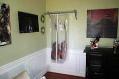 Mirror, Wood, Furniture, Home Decor, Music, Madeira, Homemade Home Decor, Woodwind Instrument, Mirrors