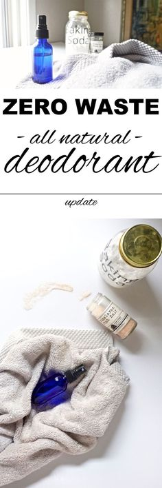 Déodorant maison zér