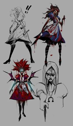 possibly concept art for alice madness returns can't find the author Dam shame would be nice if I could compliment them on this