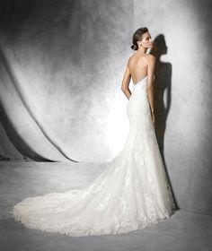 PRINCIA Robe de mariée (sirène) | Pronovias | Avec des manches longues en plus, parfaite !