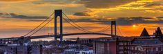 Sunset from The Roof . . . Photographed January 2nd, 2016 . . . Location - Bay Ridge, Brooklyn . . .