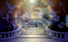 Matthew 10 Verse 38 NIV