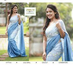 Formal Saree, Casual Saree, Indian Silk Sarees, Indian Beauty Saree, Saree Blouse Patterns, Saree Blouse Designs, Half Saree Lehenga, Sari, Indian Dresses