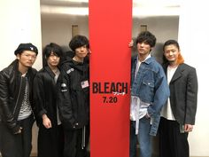 [Alexandros]2018/4/20 映画「BLEACH」主題歌・挿入歌は[ALEXANDROS]さんに決定しました!! 壮絶なアクションバトルの世界観を盛り上げてくださること間違いなしです!! #BLEACH #ALEXANDROS #黒崎一護
