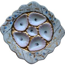 Antique Oyster Plate by Mark and Gutherz