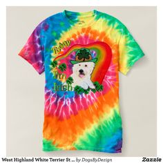 West Highland White Terrier St Pats T-shirt