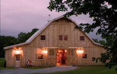 where my inspiration with barns started. So magical.