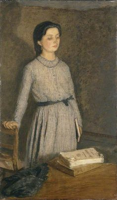 The Student (1903) - Gwen John - (Welsh, 1876 - 1939)