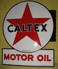 We buy, sell, and appraise Caltex Motor Oil Porcelain Signs. Sign Boards, Small Trucks, Old Gas Stations, Porcelain Signs, O Gas, Garage Signs, Texaco, Gas Pumps, Old Signs