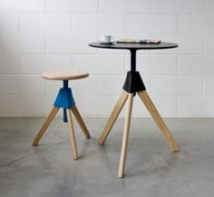 Magis Tom & Jerry Table & Stool 2